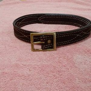 Lands End belt. Leather